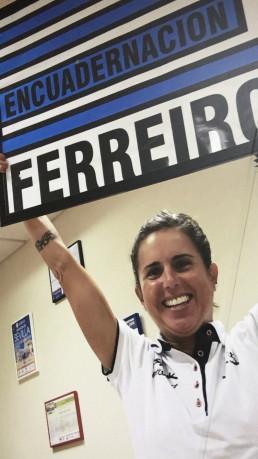 Virginia Berasategui y Encuadernación Ferreiro juntos contra el ELA
